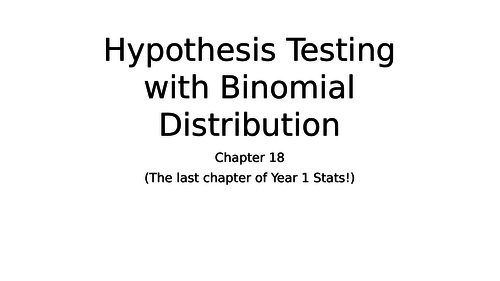 Hypothesis Testing and Critical Values and Regions with Binomial