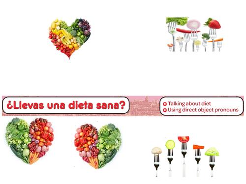 Llevas una dieta sana