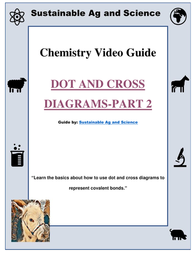 Chemistry Dot And Cross Diagrams Part 2 Fuseschool Chemistry By