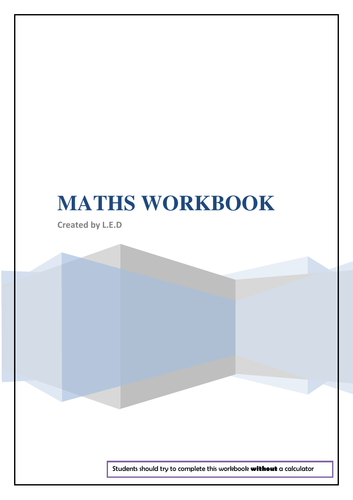 Shapes and Angles Workbook