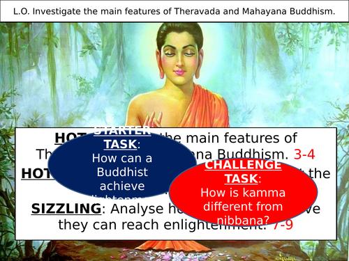 Comparing Theravada and Mahayana Buddhism