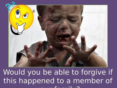 AQA RE - Religion, Peace and Conflict - Forgiveness and reconciliation
