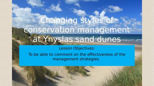 Theme 3 - Lesson 6 - Sand Dunes