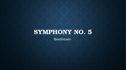 Beethoven's Fifth Symphony Detailed Notes