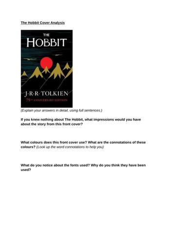 The Hobbit: Bundle of Worksheets on Narrative Method