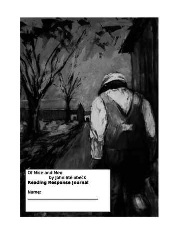 Complete half-term homework booklet: 'Of Mice and Men'.