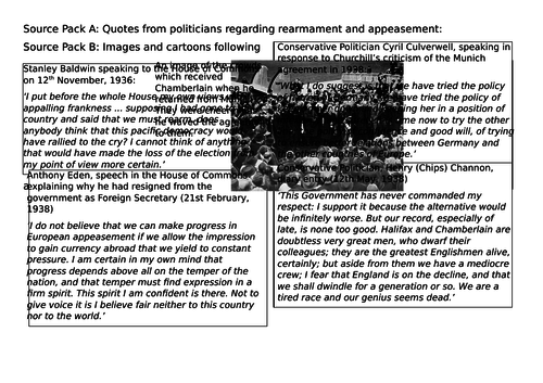 OCR A-Level History Unit Y113 - Lesson 7 - Churchill and Germany
