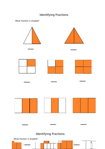 what fraction is shaded identifying fractions by catmac01 teaching resources. Black Bedroom Furniture Sets. Home Design Ideas