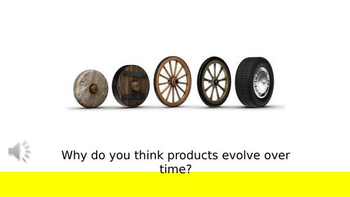 Evolution of Product Design - GCSE Product Design