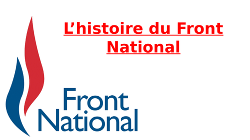 L'histoire du Front National