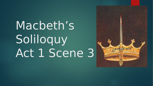 analysis of macbeth act 1 scene Get an answer for 'in macbeth, what is the effect of duncan's words in act 1, scene vi' and find homework help for other shakespeare's kitchen questions at enotes.