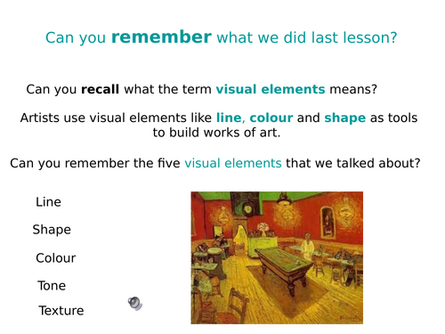 The Visual Elements_Line