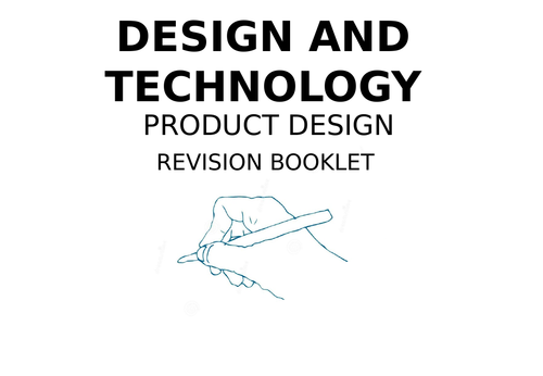 KS3 Product Design Worksheets by DesignerLearning