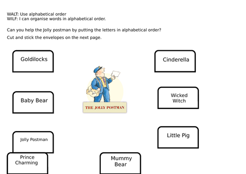 Jolly postman worksheets by taughtbyme teaching resources tes spiritdancerdesigns Images