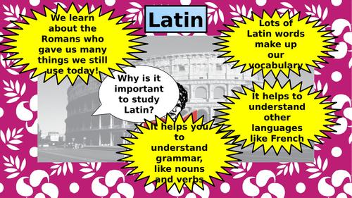 Introduction to Latin/Beginners Latin