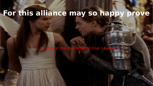 Romeo and Juliet act 2 scene 3 (Friar Lawrence)