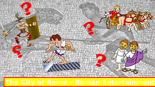 Roman Entertainment - Theatre and games