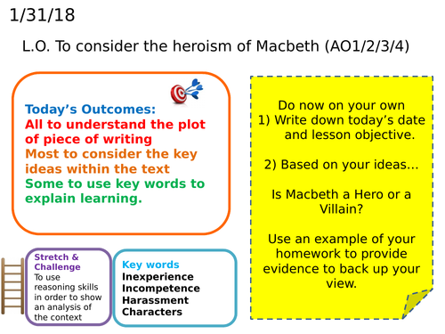 Macbeth - Hero or Villain?