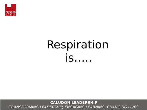 New GCSE AQA Aerobic and Anaerobic Respiration