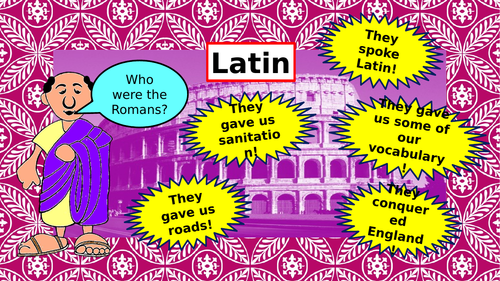 Introduction to Latin for year 6/7