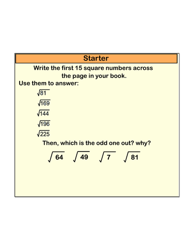Full lesson on simplifying, adding and subtracting surds