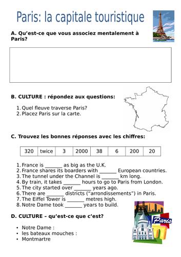Paris - informartions