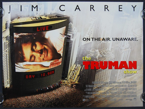 the effects of the media on the life of truman in the movie the truman show The truman show videos view all videos (1) the truman show quotes christof: christof: i have given truman the chance to lead a normal life the world.