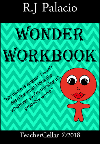 Reading with  R.J. Palacio Wonder  A Writing Workbook