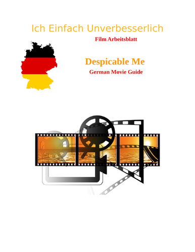 Secondary German resources: advanced level literature and film