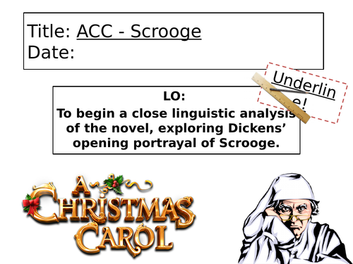compare dickens portrayal of scrooge in stave 1 essay This question has perplexed generations of dickens scholars: in a well-known essay in the correspondence between scrooge and tim, dickens recent news & articles.
