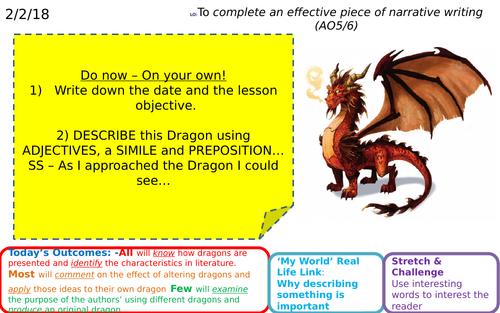 Creative/Non Fiction writing - Dragons