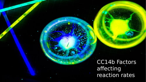 CC14b Factors affecting Rates of reaction