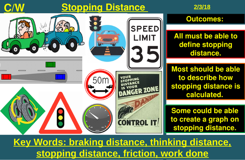 Stopping Distance | AQA P2 4.5 | New Spec 9-1 (2018)