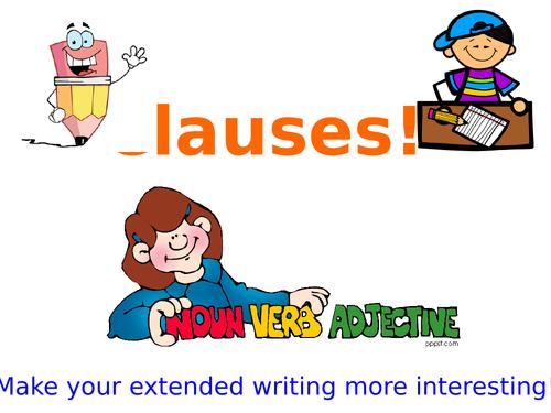 Clauses & Subordinate Clauses