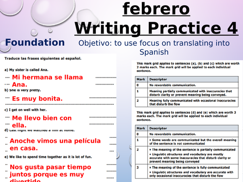 GCSE Spanish revision resources | Tes