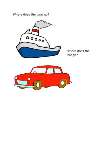 transportation puzzle
