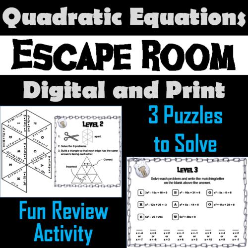 Math Puzzle Escape Room