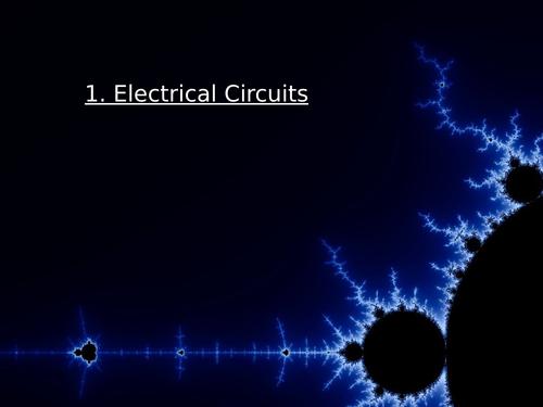 GCSE Electrical Circuits