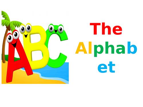 KS1 Class Assembly: The Alphabet
