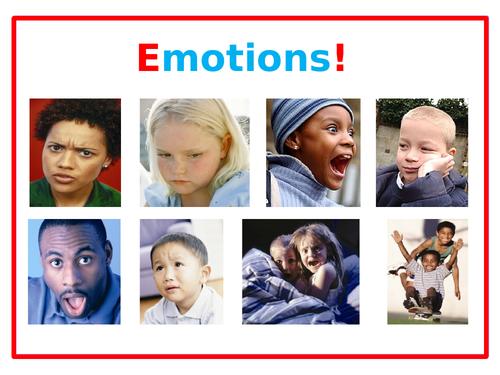 PSHE: EMOTIONS!
