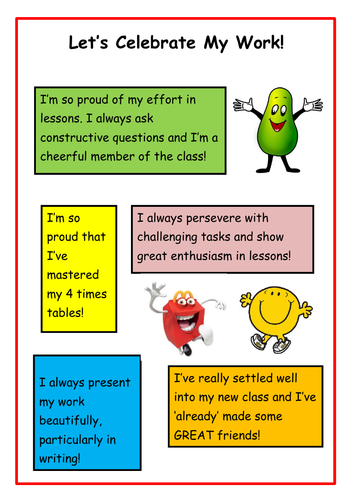 Celebrate Work and Achievements!