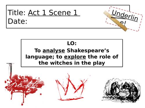 Macbeth - Act 1 Scene 1