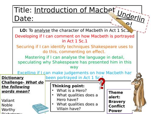 Macbeth - Act 1 Scene 2