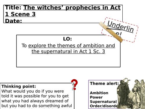 Macbeth - Act 1 Scene 3