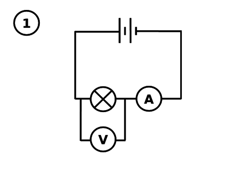 Kirchhoff's whispers (a circuit building game)