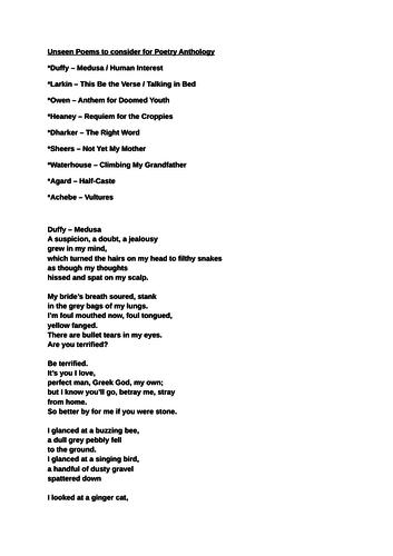 my perfect man poem