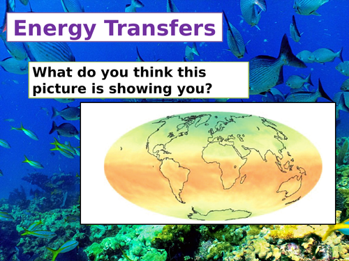 cB9.b Energy Transfers (Separate Science)