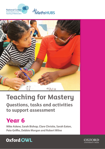 Year 6 White Rose - Mastery & Greater Depth PPT + printables