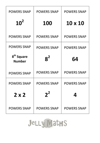 Square Numbers Snap