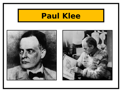 Paul Klee and Cubism Art Project